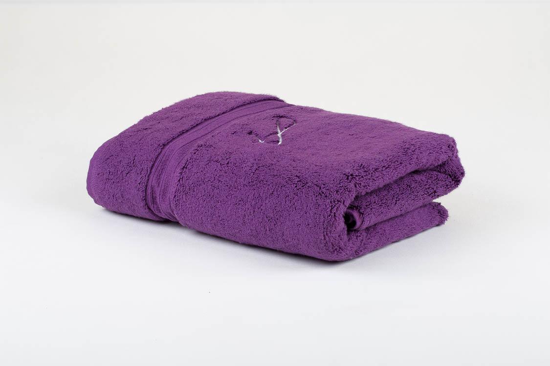 מגבת איכותית 70/130 סגול