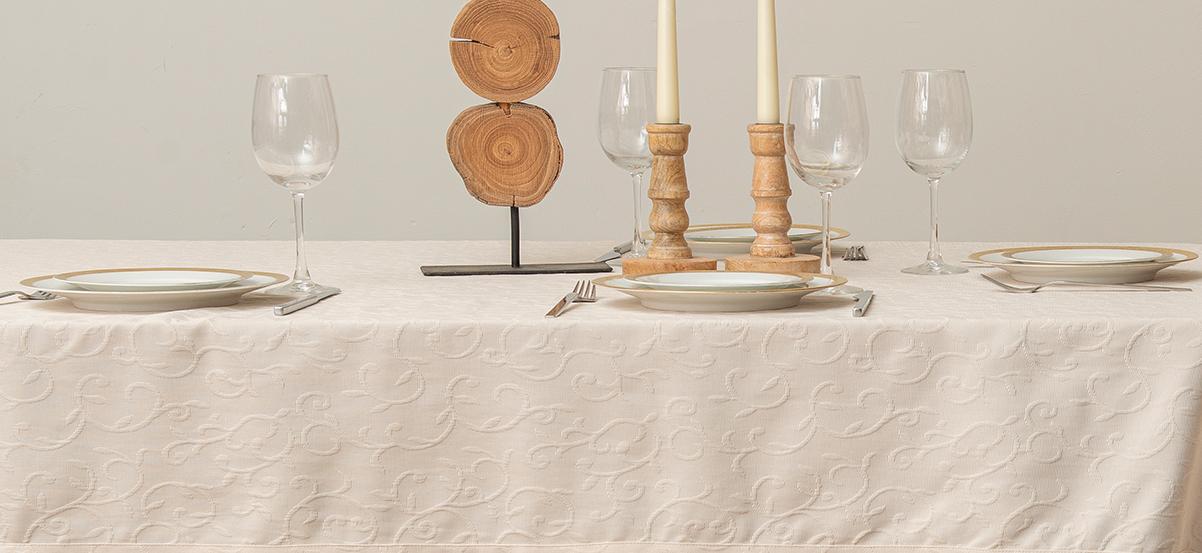 מפה לשולחן מלבני – דגם Biella